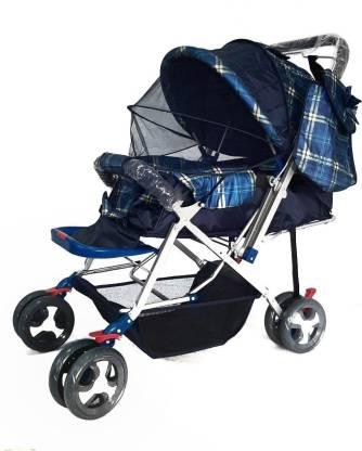 Haristar Toyss Baby Pram for New Born/Pram for Baby Boy 0 to 3 Years/Pram for Baby Girl 0 to 3 Years/Stroller for Baby boy 0 to 3 Years/Stroller for Baby Boy 0 to 3 Years Stroller(Multi, Navy Blue)