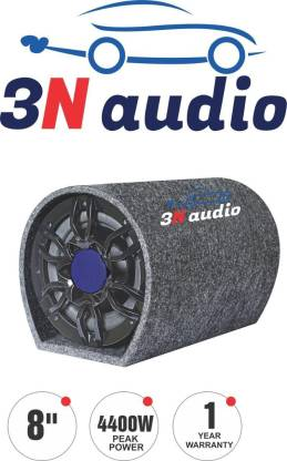 3N Audio TN-8S 3N Audio 8 inch Active Bass Tube Subwoofer with inbuilt Amplifier 4400w Subwoofer