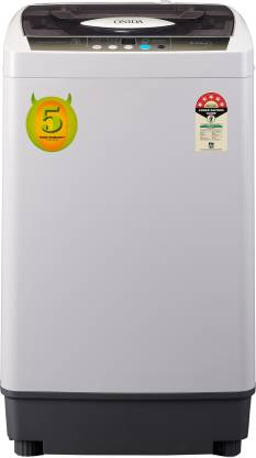 ONIDA 6.5 kg 5 Star with WaterPlus Technology Fully Automatic Top Load Grey