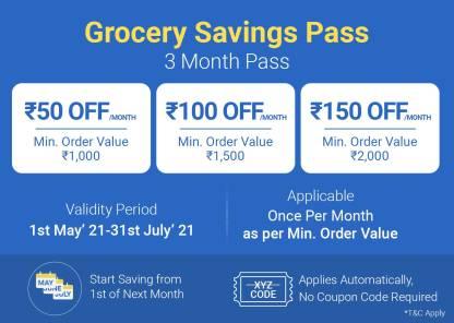 Grocery Savings Pass - 3 Months
