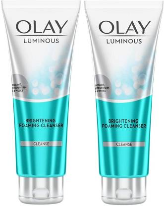 OLAY White Radiance Advanced Whitening Brightening Foaming Cleanser