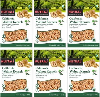 Nutraj California Walnut Kernels (Akhort Giri) Walnuts