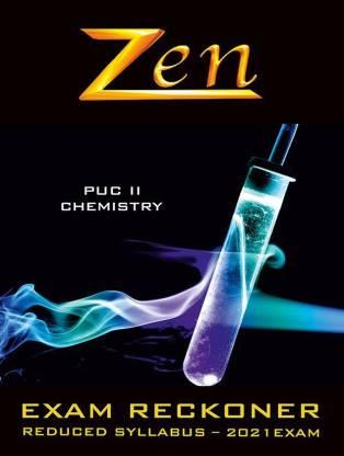 Zen Karnataka PUC 2 Chemistry Exam Reckoner 2021