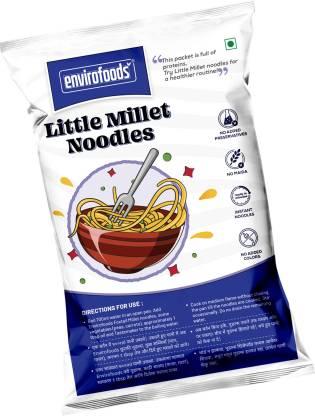 envirofoods Little Millet Noodles Instant Noodles Vegetarian