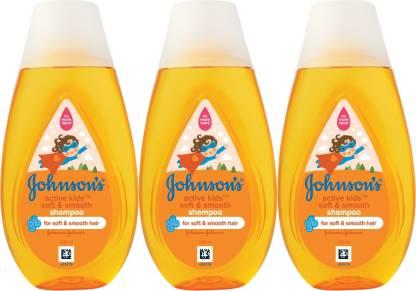 JOHNSON'S Active Kids Soft & Smooth Shampoo_2