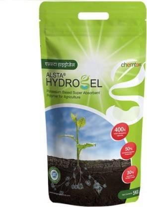 ALSTA Hydrogel - Potassium Polyacrylate Based Super Absorbent Polymer for Agriculture (5 kg) Soil, Fertilizer, Soil