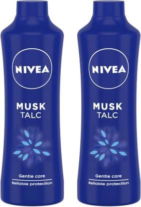 NIVEA Talcum Powder for Men & Women – Pack of 2