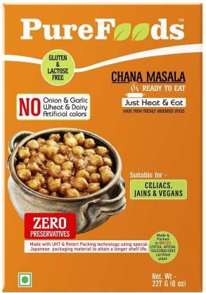 PureFoods Chana Masala Gluten and Lactose Free 227 g