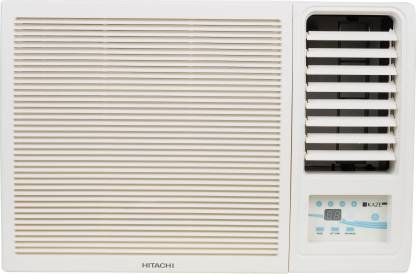 Hitachi 1 Ton 3 Star Window AC  - White