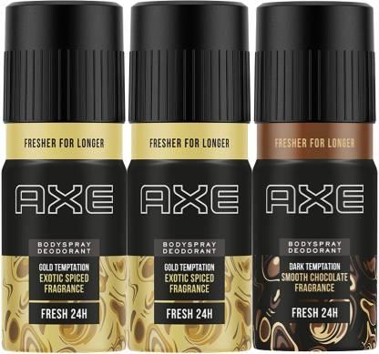 AXE Gold and Dark Temptation Deodorant Spray  -  For Men