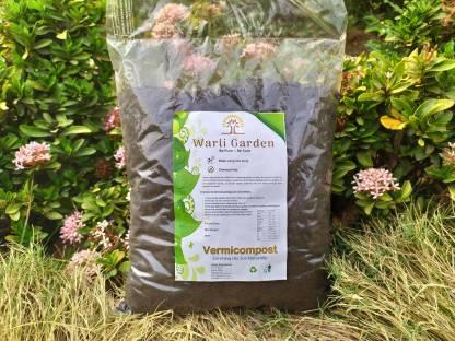 WARLI GARDEN Vermicompost Organic Fertilizer (Premium Quality) Manure
