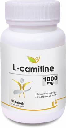 BIOTREX NUTRACEUTICALS L-carnitine 1000mg (60 Tablets)