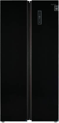 Lifelong 505 L Frost Free Side by Side Refrigerator  with Glass Finish
