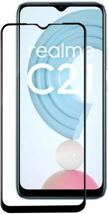 VAlight Edge To Edge Tempered Glass for Realme C21