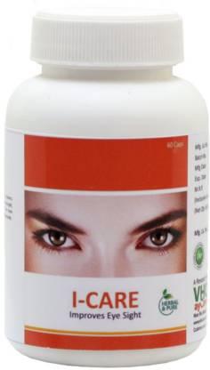 VHCA Ayurvedic Eyes Capsules (1 x 60 capsules) - I-Care Capsules.