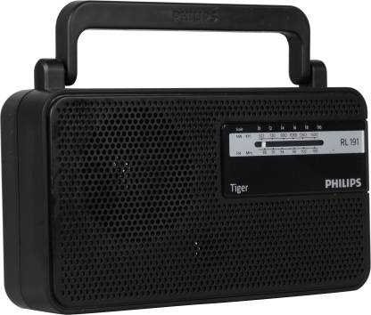 Philips Radio RL191/94 with MW/FM Bands, 180mW RMS Sound output