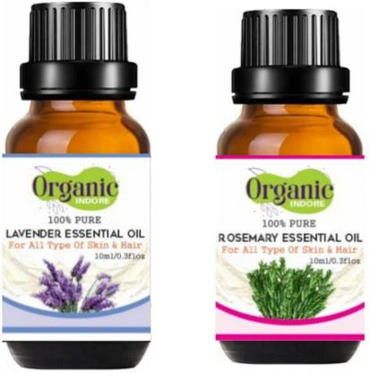 OrganicIndore Lavender oil and Rosemary oil