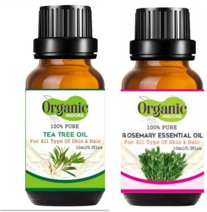 OrganicIndore Tea tree oil and Rosemary oil
