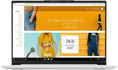 Lenovo Yoga Slim 7 Core i7 11th Gen - (16 GB/1 TB SSD/Windows 10 Home) Carbon 13ITL5 Thin and Light Laptop