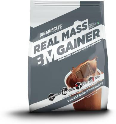 BIGMUSCLES NUTRITION Real Mass Gainer Weight Gainers/Mass Gainers