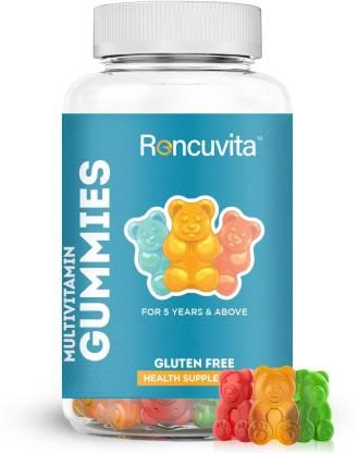 RONCUVITA Multivitamin Gummies - Kids, Women & Men Vitamins for Immunity