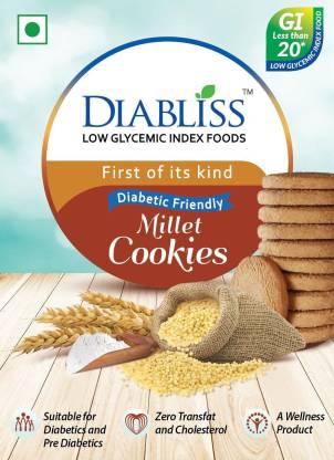 DiaBliss Diabetic Friendly Low GI Millet Cookies 150 Gms -