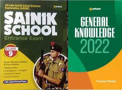 Arihant Sainik School Class 9 Guide 2022 With Gk 2022