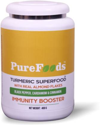 PureFoods Turmeric SuperFood Immunity Boosting Haldi Powder