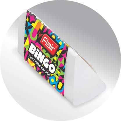 Flair Creative Bingo Non-Toxic Eraser