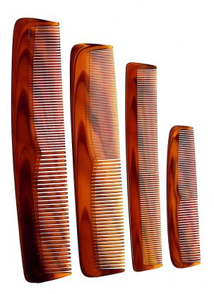 LILY Hair Comb - Classic Series combs for women, pack of 4