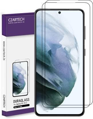 CZARTECH Tempered Glass Guard for Samsung Galaxy S21 Ultra