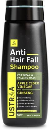 USTRAA Anti Hair Fall Shampoo with Apple Cider Vinegar