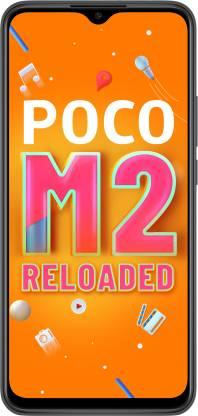 POCO M2 Reloaded (Greyish Black, 64 GB)