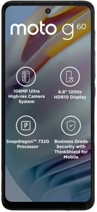 MOTOROLA G60 (Frosted Champagne, 128 GB)