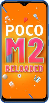 POCO M2 Reloaded (Mostly Blue, 64 GB)  (4 GB RAM)