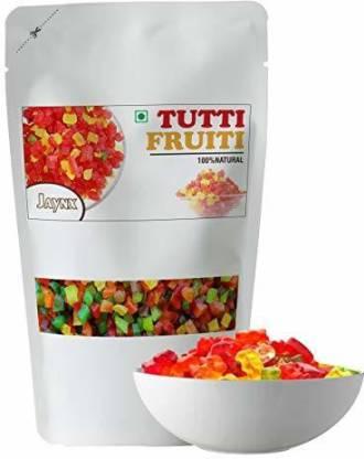 Jay Nx Mix Tutti Frutti Multi Colour Delicious in Tasty. 250gm Assorted Fruit