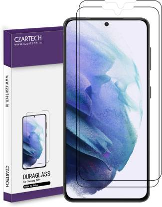 CZARTECH Edge To Edge Tempered Glass for Samsung Galaxy S21 Plus