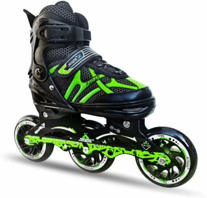 Jaspo Radar Hydra Max adjustable for all age group In-line Skates - Size 5-8 UK