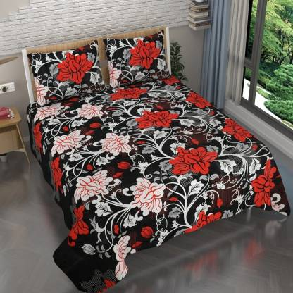 Tanish 152 TC Cotton Double Printed Bedsheet