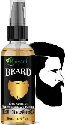 Raiyani Beard 100% Natural Oil And Groth Boosting Hair Groth Oil Hair Oil
