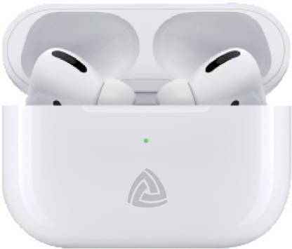 Aroma Pro Pods Yellow Series 12 Hours Playing Time TWS Bluetooth Headset(White, True Wireless)