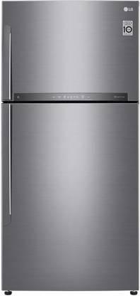 LG 630 L Frost Free Double Door 3 Star Refrigerator