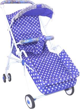 NEW CHILDREN STROLLER PREM NEW STROLLER PRAM Pram(Multi, Blue)
