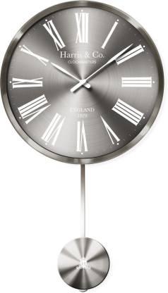 Harris & Co. Clockmasters Analog 55 cm X 33 cm Wall Clock