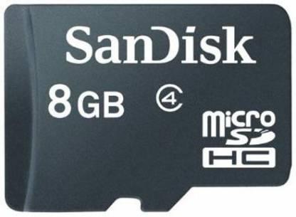 SanDisk Class 4 8 GB MicroSD Card Class 4 48 MB/s  Memory Card