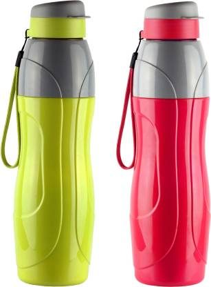 cello Puro Sports Set of 2 Assorted 900 ml Bottle