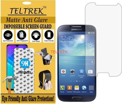 TELTREK Tempered Glass Guard for I9500 (SAMSUNG GALAXY S4) (Matte Flexible Shatterproof)