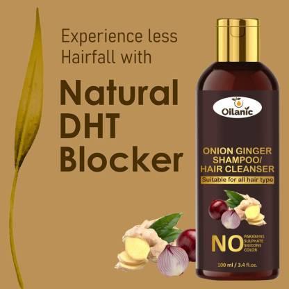 Oilanic Premium Onion Ginger Shampoo 100 ml