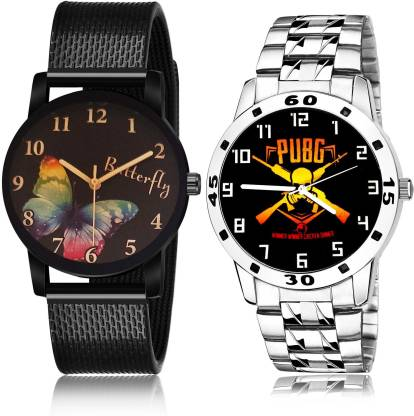 Best Tread Sports And Military Army Chain 2 Watch Combo For Boys And men - BRM20-B640 combo watch Analog Watch - For Men & Women