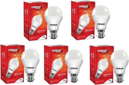 EVEREADY 7 W Standard B22 LED Bulb
